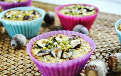 Kokos Haselnuss Muffins low carb und vegan
