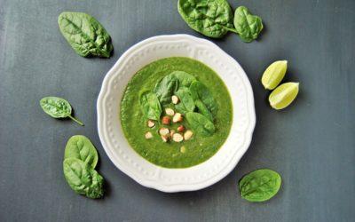 Avocado Spinat Suppe